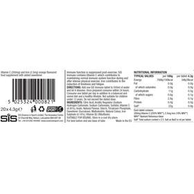 SiS Immune - Nutrición deportiva - Orange 20 x 4g Multicolor
